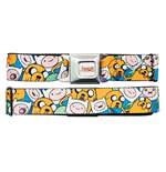 ADVENTURE TIME Finn And Jake Seatbelt Buckle Belt
