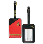 Star Trek Luggage tag Red Uniform