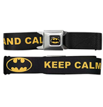 BATMAN Keep Calm Seatbelt Buckle Belt