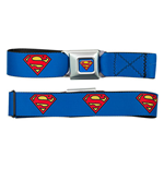 SUPERMAN Logo Seatbelt Buckle Belt