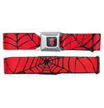 SPIDERMAN Web Seatbelt Buckle Belt