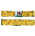 POKEMON Pikachu Seatbelt Buckle Belt