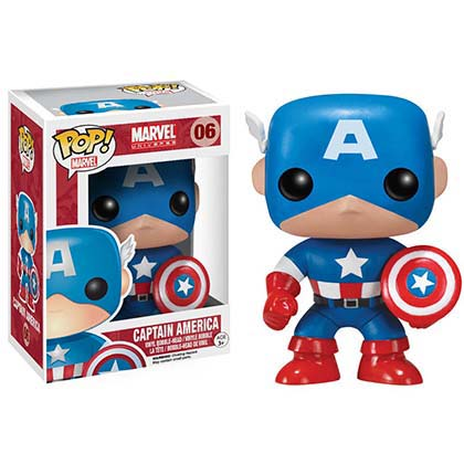 Funko Pop CAPTAIN AMERICA Bobble Head
