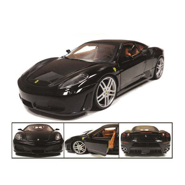 1:18 Ferrari 430 Coupè Black Diecast Model