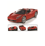 1:18 Ferrari 458 Spider Red Diecast Model