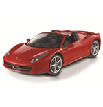 1:24 458 Italia Spider Red Diecast Model