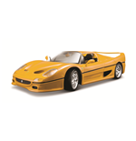 1:18 Ferrari F50 Yellow Diecast Model