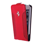 Ferrari  iPhone 5 C Leather Flip Cover