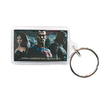 BATMAN V SUPERMAN and Wonder Woman Lucite Keychain
