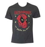 DEADPOOL Loves Tacos Gray T-Shirt