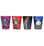 BATMAN Villains 4 PC Shot Glass Set