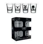 Death Note Shotglass 4-Pack Mix