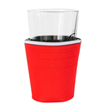 Red Plastic Cup Pint Glass Koozie
