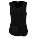 Urban Fashion - Zip Pouch Vest Black