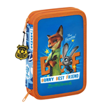 Zootopia / Zootropolis 34-Piece Pencil Case with content Bunny Best Friend 21 cm