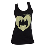 BATMAN Heart Womens Tank Top