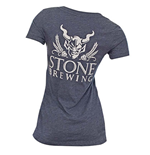 Stone Brewery Womens Girl V Neck Shirt