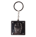 Call of Duty Black Ops III Metal Key Ring Skull