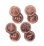 The Hobbit Coin Set #3 4 Shire Farthings
