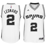 Men's San Antonio Spurs Kawhi Leonard adidas White New Swingman Home Jersey