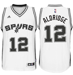 Men's San Antonio Spurs LaMarcus Aldridge adidas White New Swingman Home Jersey