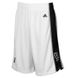 adidas San Antonio Spurs White New Swingman Shorts