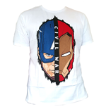 Captain America Civil War T-Shirt Stark Cap Head