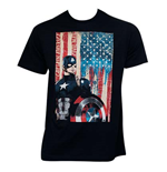 CAPTAIN AMERICA Civil War Patriotic Captain Black