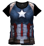 Captain America Civil War T-Shirt Cap Chest