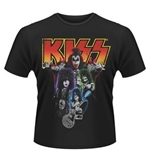 Kiss T-shirt Neon Band