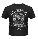 Sleeping With Sirens T-shirt Skeleton