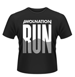 Awolnation T-shirt Run