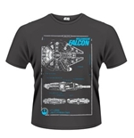 Star Wars The Force Awakens T-shirt Millenium Falcon Maintenance