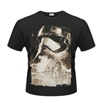 Star Wars The Force Awakens T-shirt Captain Phasma Poster