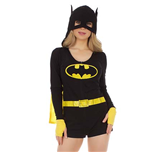 Women's BATMAN Hooded Romper