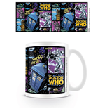 Doctor Who Mug Comic Strip