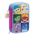 Inside Out 34-Piece Pencil Case with content Ocean of Emotion 21 cm