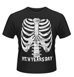 New Years Day T-shirt Ribcage