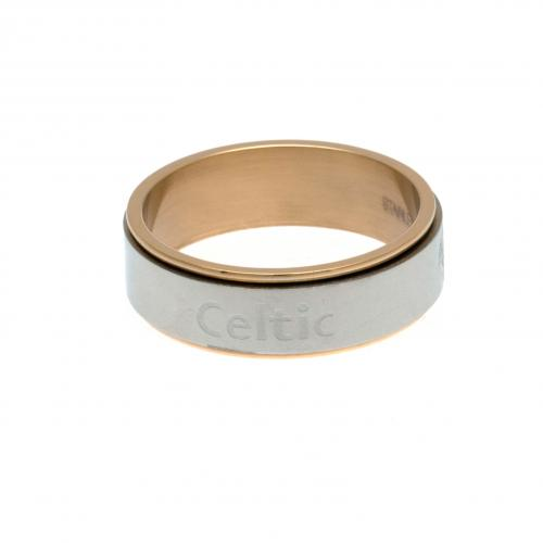 Celtic F.C. Bi Colour Spinner Ring XX-Large