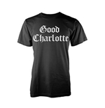 Good Charlotte T-shirt White Puff Logo