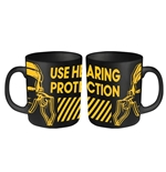 HACIENDA, The Mug Use Hearing Protection