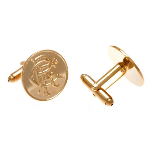 Rangers F.C. Gold Plated Cufflinks