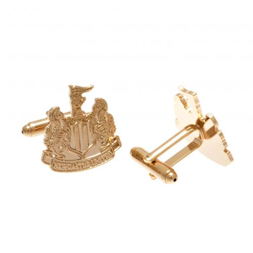 Newcastle United F.C. Gold Plated Cufflinks