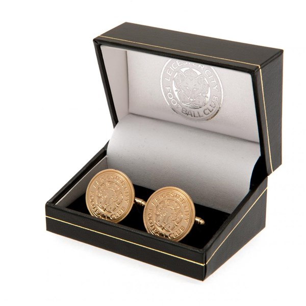 Leicester City F.C. Gold Plated Cufflinks