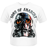 Sons of Anarchy T-shirt - Flame Skull