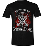 The Walking Dead T-shirt - Grimes / Dixon Protection Logo