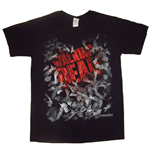 The Walking Dead T-shirt - Walker Horde And Logo