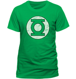Green Lantern T-shirt - Distressed Logo