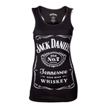 Jack Daniel's Women's Tank Top - Black Logo
