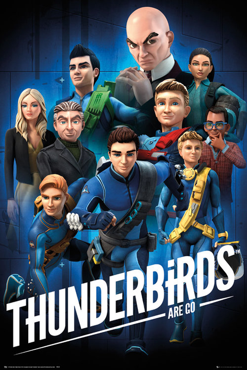 Thunderbirds Are Go Collage Maxi Poster